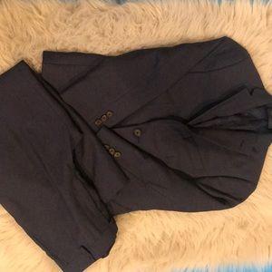 Boys Ralph Lauren  navy blue suit